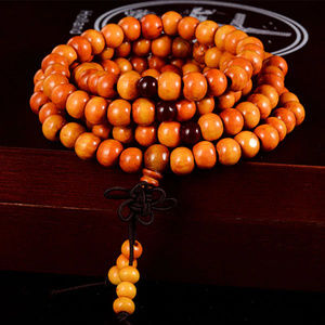 Orange Meditation Bracelet
